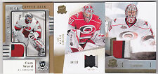 10-11 The Cup Cam Ward /10 Patch Gold 2010 Hurricanes