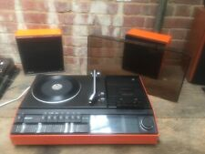 Vintage Philips 940 Music Center Record Tape Radio 1970s Pop Art Retro Working
