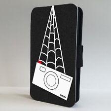 Spiderman Peter Parker Teléfono Abatible De Cámara Nikon Estuche Cubierta para IPHONE SAMSUNG