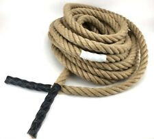 24mm Natural Junior Adult Tug of War Rope x 10 Metres, Sports Days School