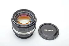 Konica 57mm f1.4 lens AR Hexanon 57/1.4 Manual 50mm Lens 50+FAST+Sharp++BEAUTY