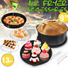 13/12/11/10/8 PCS Air Fryer Accessorie Cooking Baking Set Dish Pan For 5.2-6.8QT