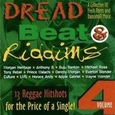 DREAD BEAT & RIDDIMS VOLUME 4 - CD - CRS RECORDS SAMPLER