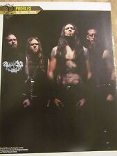 Goatwhore, Full Page Pinup