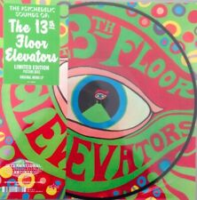 The Psychedelic Sounds Of 13th Floor Elevators Mono LP Picture Disc RSD 2019 NEW