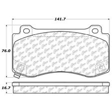 Disc Brake Pad Set-SRT8 Front Stoptech 308.11490