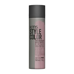 KMS StyleColor Vintage Blush Rose Pastel 3.8 oz / 150 ml temporary spray-on hair