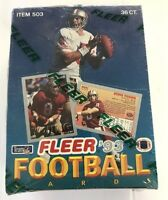1993 Fleer Football NFL Cards Factory Sealed Box Glossy Fronts. Gold Foils Incl!