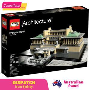 GENUINE LEGO Architecture - Imperial Hotel 21017 - Sealed Damaged Box -FREE Post