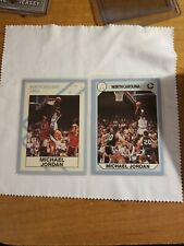 (2) Different 1990 Collegiate Collection Promos Michael Jordan #NC1 #NC1