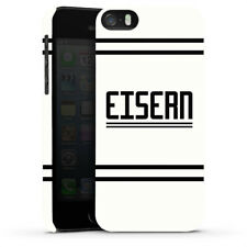 Apple iPhone 5s Premium Case Cover - Eisern 3 Union Berlin