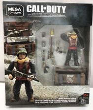 MEGA CONSTRUX Call of Duty GCN92 WWII Weapon Crate NEW!