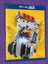 The Lego Movie BLU-RAY DISC & DVD IN CASE NEW UNSEALED SHIPS SAME DAY NO 3D DISC