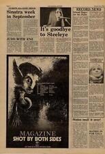 Magazine Buzzcocks Shot By Both UK Tour advert 1978