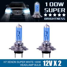 2pcs H7 100W 6000K 12V Ampoule Lampe Feu Phare XENON GAZ SUPER BLANC ER