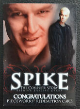 Spike Complete Story inkworks Pieceworks PW Redemption Card PR-1 Trading Card
