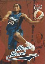 2004 FLEER ULTRA WNBA ALANA BEARD ** ROOKIE CARD ** MYSTICS LA SPARKS DUKE