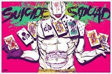 Boneface Suicide Squad Movie Poster Mondo Batman Art Print DC Comics Harley
