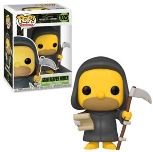 FUNKO POP! THE SIMPSONS TREEHOUSE OF HORROR 1025 GRIM REAPER HOMER VINYL FIGURE