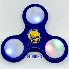 Golden State Warriors NBA Licensed LED Light 3way Fidget Spinner