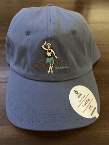 Patagonia Pataloha Hula Girl Hat Cap - New With Tags - Dolomite Blue - Rare