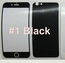 "iPhone 6 4.7"" 4D Coloured Carbon Fiber Skin Sticker Package, Bumper + Protector"