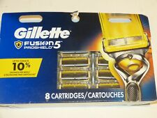 Gillette Fusion 5 Proshield-  8 Cartridges = 8 blades NEW Razor