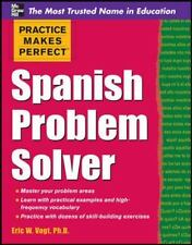 Spanish Problem Solver (Paperback or Softback)