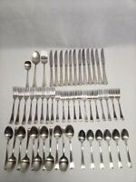 52 Pieces Oneida Ltd 1881 Rogers WYNDHAM Stainless Flatware
