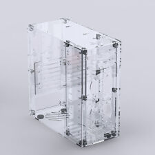 DIY Personalized Transparent Clear Acrylic ATX Computer PC Case Assembly Kit