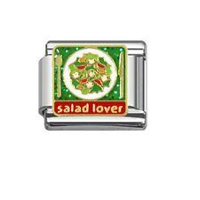9mm Classic Size Italian Charm E84 Vegetarian Salad Lover