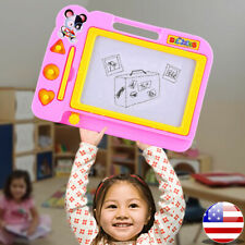 Kids Magnetic Drawing Board with Pen Writing Sketch Educational Preschool Toy