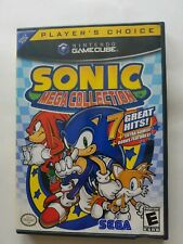 Sonic mega collection Nintendo GameCube Players Choice  NO manual Disc Excellent