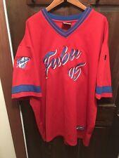 Vintage Fubu 05 Baseball Jersey Xxl Red