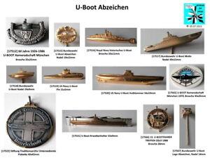 U-Boot / Submarine Abzeichen badges Bundeswehr / Nato aussuchen