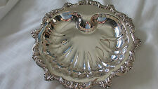 Vintage Poole Silverplate # 5925 Epca Platter, 1900-1940 Vguc