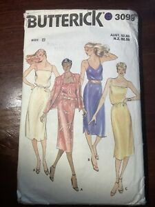 Vintage BUTTERICK Misses Dress & Jacket Pattern 3099  Size 8-12