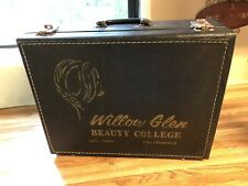 VTG WILLOW GLEN BEAUTY COLLAGE SAN JOSE CA. FASHION CASE-TOTE-SUITCASE