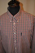 Ben Sherman red check shirt size XL casual mod