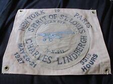 1927 CHARLES LINDBERGH SPIRIT OF ST LOUIS NEW TO PARIS  AIRCRAFT WALL ART
