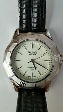Activa Mens Swiss Analog Quartz Wrist Watch