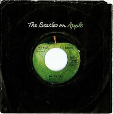 The Beatles GET BACK / DON'T LET ME DOWN 45 record near perfect condition!