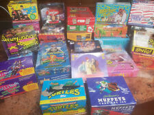 128  Packs Vintage Assorted Non Sports Trading Card Packs – Less Than $.31 Each