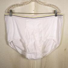 vtg 90s NOS Stafford gold / blue band Cotton Underwear Briefs SZ 44