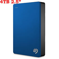 "4TB 2.5"" Seagate Backup Plus Portable External Hard Disk Drive HDD USB3.0 4000GB"