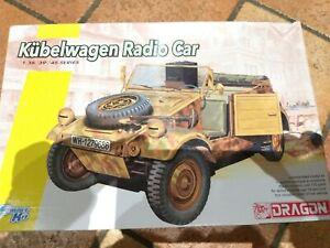 kit Kubelwagen Radio Car marca Dragon, scala 1/35