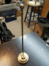 """vintage 12.25"""" miniture brass flag pole"""