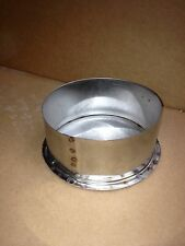 6 Inch Stainless Steel Stove Pipe Tee Cap Made in Maine, USA!!