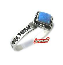 Seven Blessings Ring With Opal - Luck Love Health Prosperity Happiness Wealth