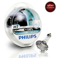 COPPIA LAMPADE PHILIPS H7 X-TREME VISION +100% LUCE 12V 55W ALTA VISIBILITA'